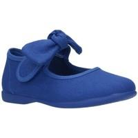 Zapatos Niña Bailarinas-manoletinas Batilas LONAS NIÑA - bleu
