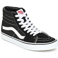 Zapatos Zapatillas altas Vans SK8 HI Negro / Blanco