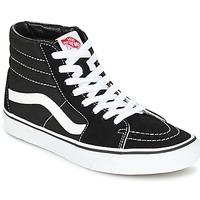 Zapatos Hombre Zapatillas altas Vans SK8 HI Negro / Blanco