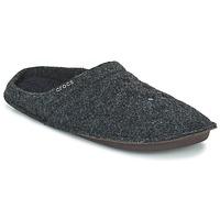 Zapatos Pantuflas Crocs CLASSIC SLIPPER Negro