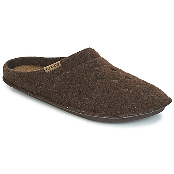 Zapatos Pantuflas Crocs CLASSIC SLIPPER Marrón