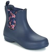 Zapatos Mujer Botas de caña baja Crocs CROCS FREESAIL CHELSEA Marino