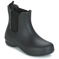 Zapatos Mujer Botas de caña baja Crocs CROCS FREESAIL CHELSEA Negro