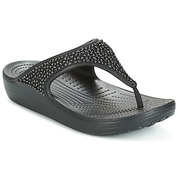 Zapatos Mujer Sandalias Crocs SLOANE Negro