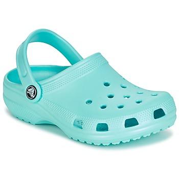 Zapatos Niños Zuecos (Clogs) Crocs CLASSIC CLOG KIDS Azul