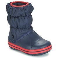 Zapatos Niños Botas de nieve Crocs WINTER PUFF BOOT KIDS Marino
