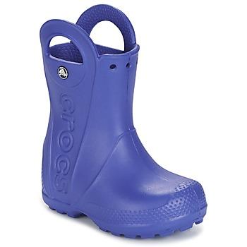 Zapatos Niños Botas de agua Crocs HANDLE IT RAIN BOOT Azul