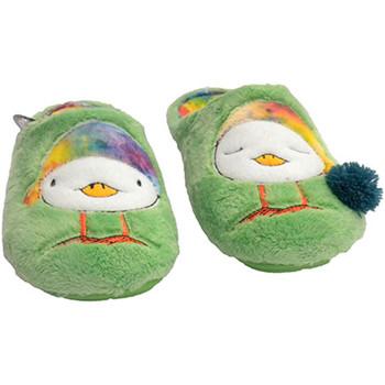 Zapatos Mujer Pantuflas para bebé Costa Chanclas mujer estar en casa con pollito en pala forro de colore