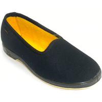 Zapatos Mujer Pantuflas Doctor Cutillas 477 negro