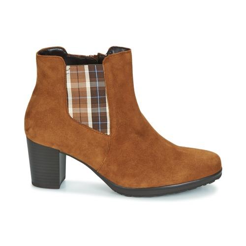 Mujer Kapitu Botines Gabor Zapatos Camel mn8wNv0O