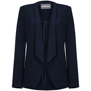 textil Mujer Chaquetas / Americana Anastasia - Mujeres sin forro Cascada Blazer Blue