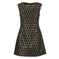 textil Mujer vestidos cortos Molly Bracken DIRCO Negro / Oro