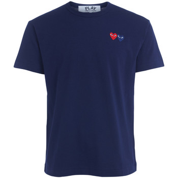 textil Hombre Tops y Camisetas Comme Des Garcons Camiseta  azul con doble cursor Azul