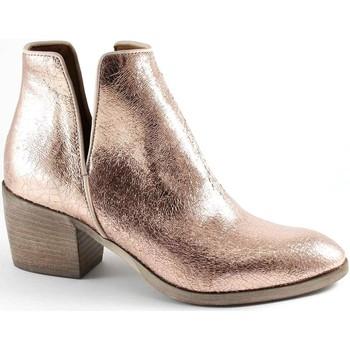 Zapatos Mujer Botines Divine Follie DIV-E17-COW07-RA Rosa