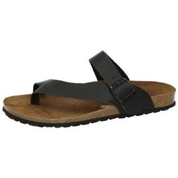 Zapatos Hombre Sandalias Interbios Sandalias Negro