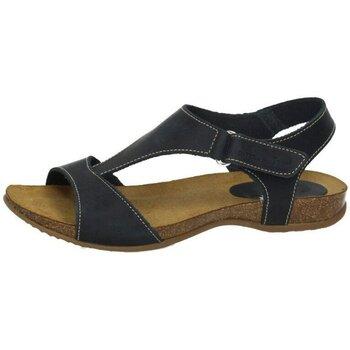 Zapatos Mujer Sandalias Interbios Sandalias Azul
