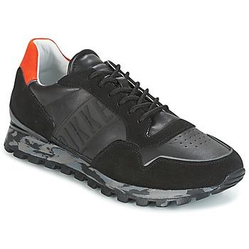 Zapatos Hombre Zapatillas bajas Bikkembergs FEND-ER 946 Negro / Naranja