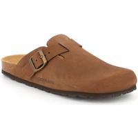 Zapatos Hombre Zuecos (Clogs) Grunland DSG-CB7033 MARRONE