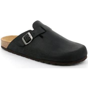 Zapatos Hombre Zuecos (Clogs) Grunland DSG-CB7034 NERO