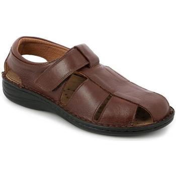 Zapatos Hombre Sandalias Grunland DSG-SE0015 NERO