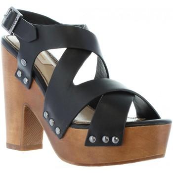 Zapatos Mujer Sandalias Pepe jeans PLS90152 JOPLIN Negro