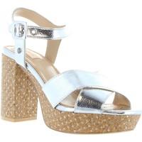 Zapatos Mujer Sandalias Pepe jeans PLS90161 GRACE Plateado