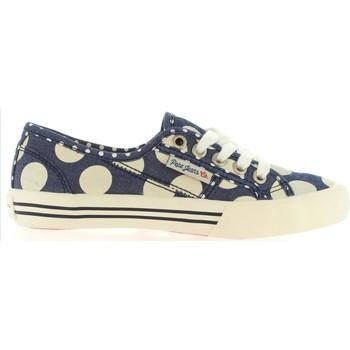 Zapatos Niños Deportivas Moda Pepe jeans PGS30178 BAKER Azul