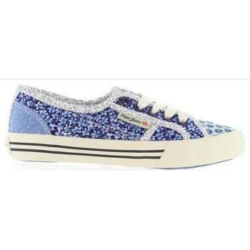 Zapatos Niños Deportivas Moda Pepe jeans PGS30186 BAKER Azul
