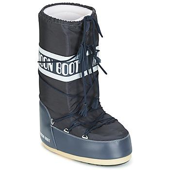 Zapatos Botas de nieve Moon Boot MOON BOOT NYLON Denim