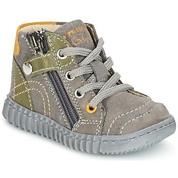 Zapatos Niño Botas de caña baja Primigi PSM 8028 Gris