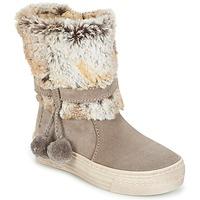 Zapatos Niña Botas de caña baja Primigi PSA 8164 Gris / Rosa