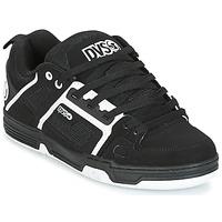 Zapatos Hombre Zapatillas bajas DVS COMANCHE Negro / Blanco