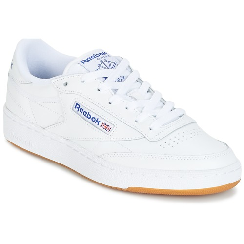 Zapatos promocionales Reebok Classic CLUB C 85 Blanco  Descuento de la marca