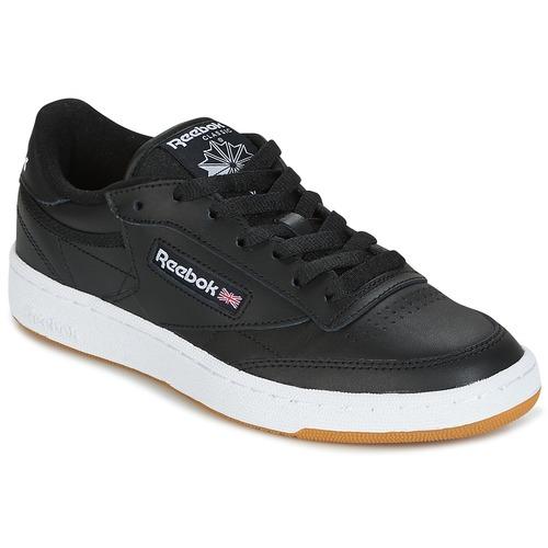 Los últimos zapatos de hombre y mujer Reebok Classic CLUB C 85 C Negro - Envío gratis Nueva promoción - Zapatos Deportivas bajas