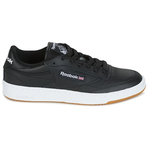 Reebok Club Negro Bajas Zapatillas Zapatos Classic C 85 MzqSVpGjLU