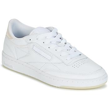Zapatos Mujer Zapatillas bajas Reebok Classic CLUB C 85 L THR Blanco