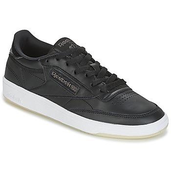 Zapatos Mujer Zapatillas bajas Reebok Classic CLUB C 85 LTHR Negro