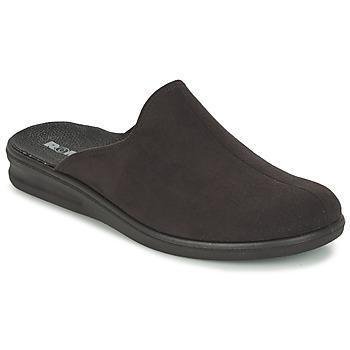 Zapatos Hombre Pantuflas Romika PRASIDENT 445 Negro