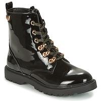 Zapatos Mujer Botas de caña baja Kaporal SANGOAN Negro