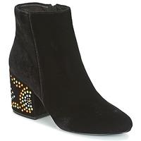 Zapatos Mujer Botines Café Noir GIROU Negro