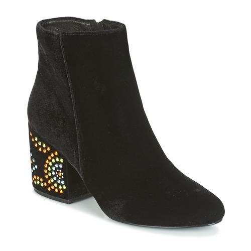 Zapatos promocionales Café Noir GIROU Negro  Cómodo y bien parecido