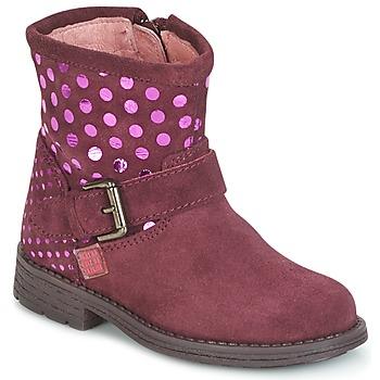 Zapatos Niña Botas de caña baja Agatha Ruiz de la Prada VAGABUNDA AGATHA Burdeo