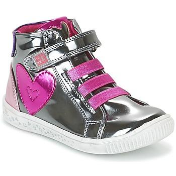 Zapatos Niña Zapatillas altas Agatha Ruiz de la Prada FLOW Plateado