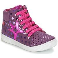 Zapatos Niña Zapatillas altas Agatha Ruiz de la Prada FLOW Violeta
