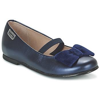 Zapatos Niña Bailarinas-manoletinas Garvalin GARDEN Azul