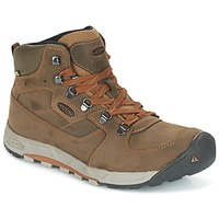 Zapatos Hombre Senderismo Keen WESTWARD MID LEATHER WP Negro