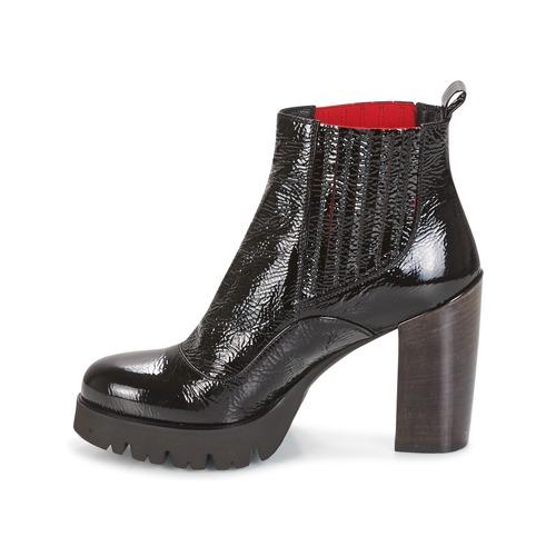Negro Zapatos Mujer Botines Now Naplak rhdQts