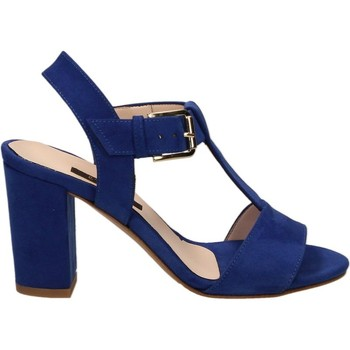 Zapatos Mujer Richelieu L'amour VELOUR Azul