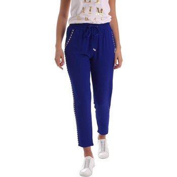textil Mujer pantalones chinos Gaudì Jeans 73BD25205 Trousers Mujeres Blue Blue