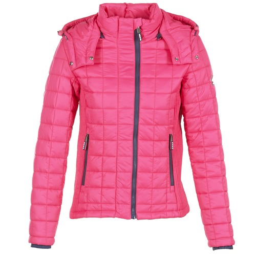 Rosa Superdry Plumas Textil Mujer Fuji Quilted Box vny80wPNmO